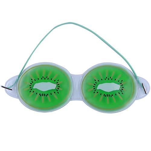 Bigsweety Fruchtgel EIS Augenmasken Entfernen Dunkle Kreise Entlasten Sie Die Müdigkeit Entlastung Kühlung Augenpflege Entspannung (Kiwi)