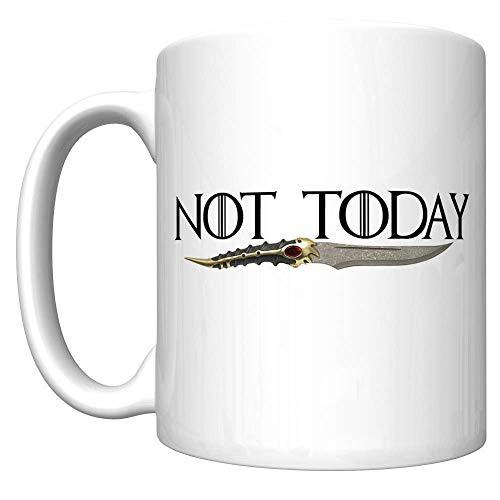 No hoy con la daga de Catspaw (juego de tronos de Arya Stark) [H] Taza De Café