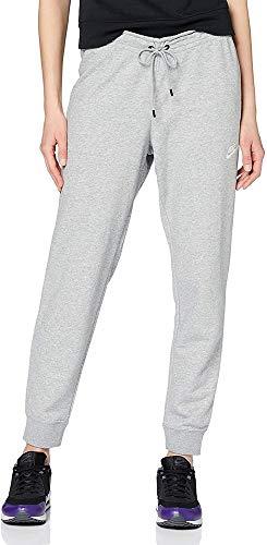 Nike Damen Essntl Pant Tight Flc Nsw Essential, Dk Grey Heather/White, XXL EU