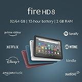 Fire HD 8 tablet, 8' HD display, 32 GB,...