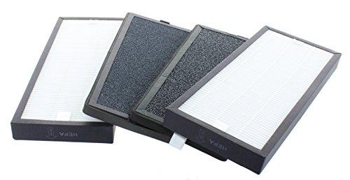 Filterpaket von 4 Filtern für Luftreiniger WDH-988b