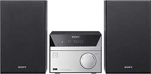 Sony CMTSBT20.CEL - Sistema de Audio (12 W, CD, FM, Radio, USB, Bluetooth), Negro