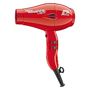 Parlux Advance Light – Secador de pelo ionico, Rojo