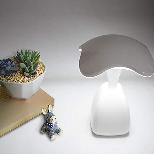 Lámpara de mesa Regulable USB Luz de noche recargable Estudiar Lámparas de escritorio de lectura