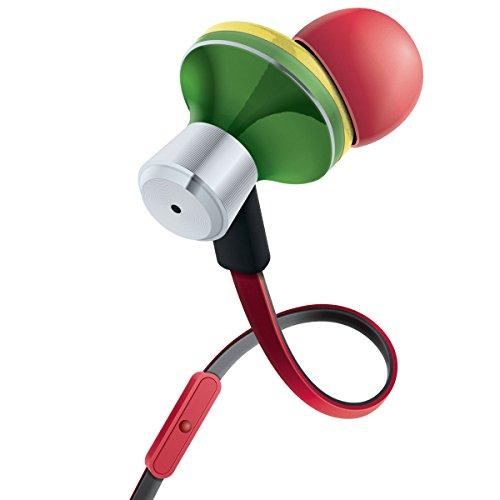 GOgroove Auriculares Intrauriculares/Cascos In Ear Fitness Deporte/Auriculares Cancelación de Ruido y Micrófono