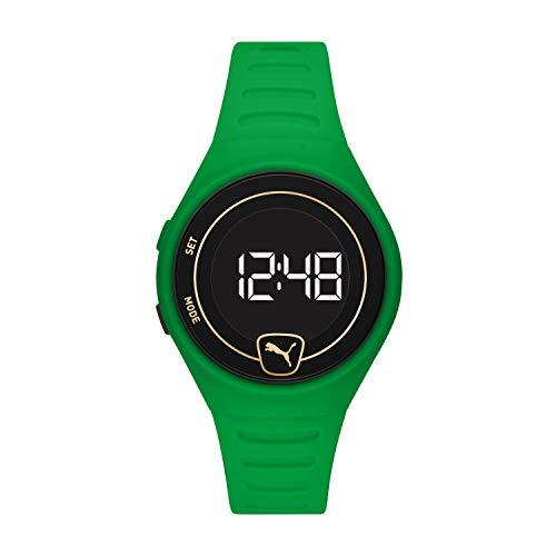 PUMA Reloj digital unisex con correa de poliuretano P5046.