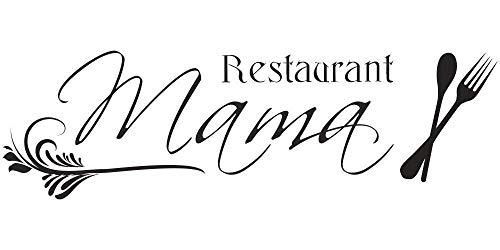 Wandtattoo Küche - Restaurant Mama