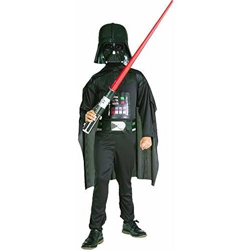 Rubies 41020 - Costume per bambino, modelo Darth Vader Set, taglia L (8 -10 anni)
