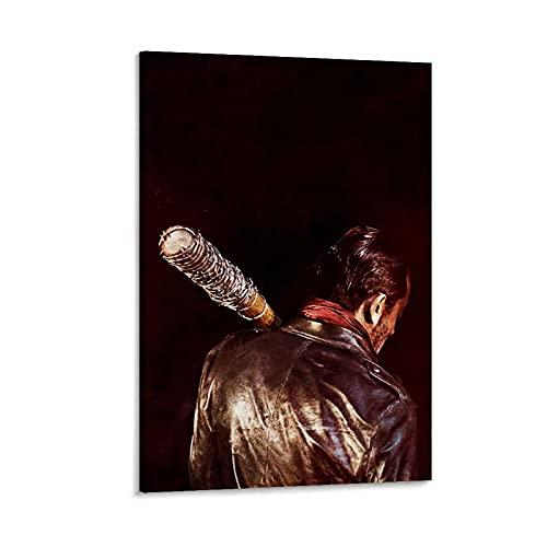ASDH Póster de The Walking Dead, cuadro decorativo, lienzo para pared, sala de estar, póster, dormitorio, 20 x 30 cm