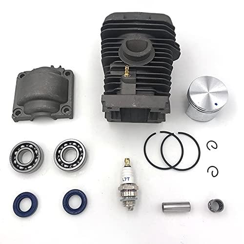 40mm cilindro motor Pan pistón Assy Base rodamiento de bolas bujía Kit para STIHL MS230 210 023 Motosierra repuestos