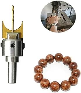 16Pcs Milling Cutter Wooden Beads Drills Bit 14-25mm Carbide Router Bit Ball Blade Drill Bits Woodworking Tools