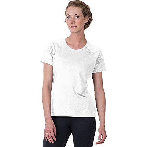 Soybu Endurance SS T-Shirt à Manches Courtes pour Femme Blanc Taille XS