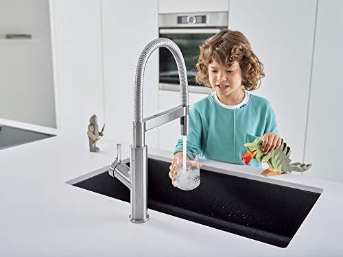 "BLANCO, Anthracite 440149 PRECIS SILGRANIT Super Single Undermount Kitchen Sink, 32"" X 19"""