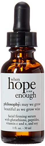 Philosophy When Hope is not Enough Facial Firming Serum, 1 Ounce