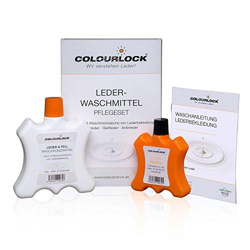 LEDERFEIN leerwasmiddel + leer fixatief 250 ml / 100 ml