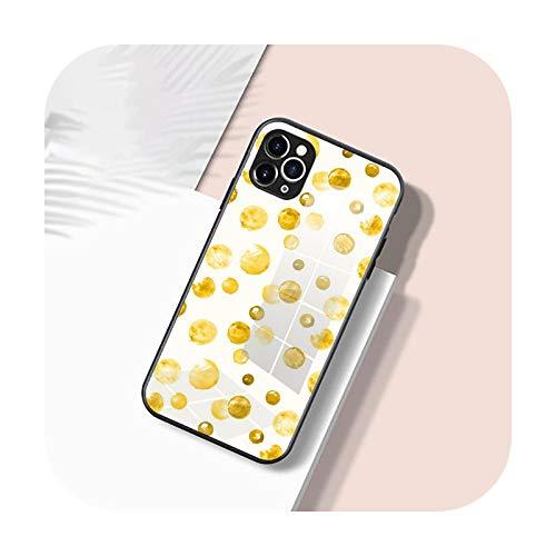 Carcasa de silicona suave para iPhone 12 11 Pro X XS Max XR 8 7 6 Plus SE 2020 S Mini Balck Cover como la imagen 12-iPhone 12 Pro Max
