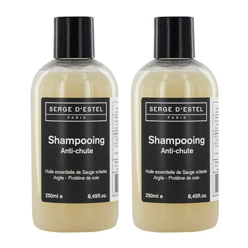 Haarausfall-Shampoo 2 x 250 ml Stärkungsshampoo stellt die Haarfaser wieder her und stärkt sie