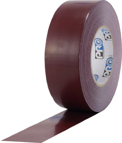 ProTapes Pro Duct 110 PE-Coated Cloth General Purpose Duct Tape, 60 yds Length x 2' Width, Burgundy (Pack of 1)