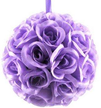 10 Inch Lavender Rose Kissing Flower Rose Ball