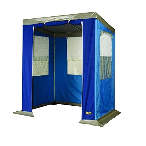 Bertoni - Cortinas Bistrot para Cocina, pícnic de Camping, Color Azul, única