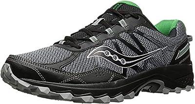 Saucony Men's Excursion TR11 Running Shoe, Grey Green, 10.5 Medium US