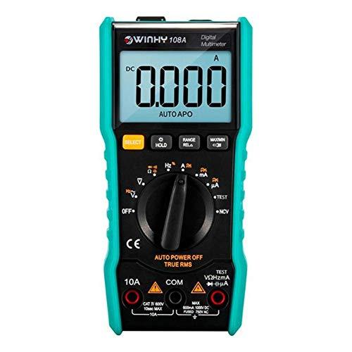 GMtes Mini-Digital-Multimeter, LCD-Spannungsmessgerät für den automatischen Messbereich von Handmessgeräten