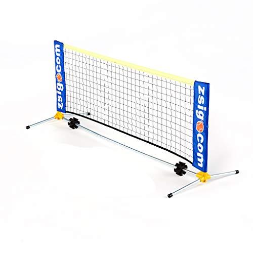 Zsig Kinder ZS-6-MT-EY Tennisnetz, Mehrfarbig, 1.6m