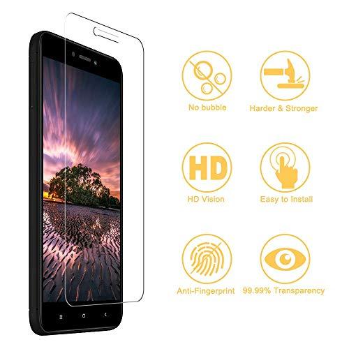 RIIMUHIR Cristal Templado para Xiaomi Mi 8/Mi 8 Pro, Protector de Pantalla para Xiaomi Mi 8/Mi 8 Pro, Vidrio Templado, [Sin Burbujas] [Anti-Rasguños] [Alta Definicion] - 3 Piezas