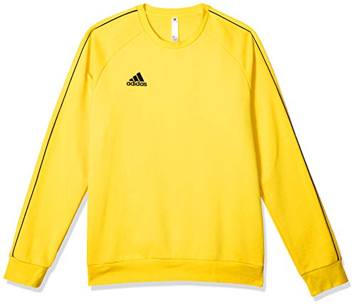 adidas Core 18 Sweat Top Sudadera, Hombre, Yellow/Black, L