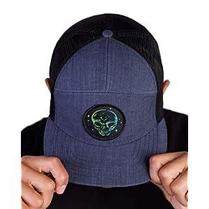 INTO THE AM Adjustable Snapback Hats – Flat Brim Galaxy Print Designs