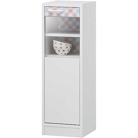 白井産業 【SHIRAI】 ミニカップボード 可愛い食器棚 プリチェ PCH-9030G