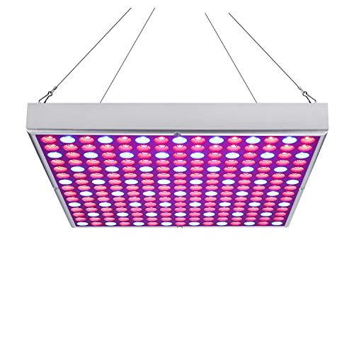 fsders VINGO 15W LED Pflanzenleuchte Pflanzenlampe Pflanzenlicht Zimmerpflanzen Wachstumslampe Grow Lampe 225 LEDs Rot&Blau für Zimmerpflanzen Blumen und Gemüse tageslicht