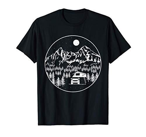 Dachzelt Camper | Klappdachzelt SUV Camping Urlaub Natur T-Shirt