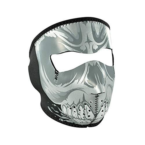 ZANheadgear Neopren Gesichtsmaske fuer Motorrad, Quad, Ski, Snowboard, Paintball MIT FLEECE WNFL002