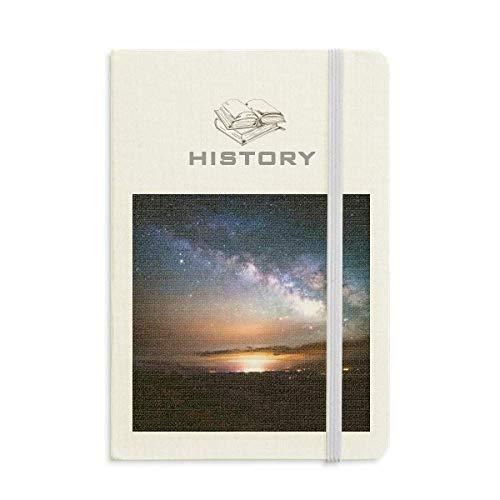 星雲は銀河の暗黒の夜の空 歴史ノートクラシックジャーナル日記A 5