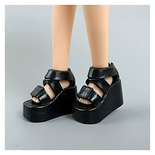 Moda 1: 6 Zapatillas de Deporte para la muñeca de Barbie Zapatos de muñeca Casuales para Blythe Licca Muñeca Zapatos para Momoko 1/6 Muñecas Accesorios Accesorios Ventana Decoración Artesanías Lindas