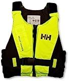 Helly Hansen Rider Vest Chaleco de Ayuda a la flotabilidad, Unisex Adulto, Negro/Amarillo, 50/60