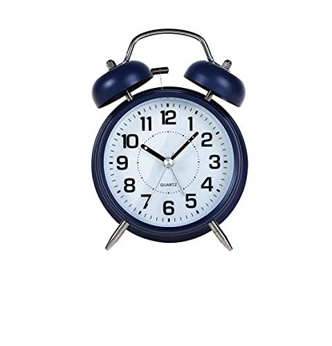XuSong Reloj despertador estéreo creativo con luz nocturna para dormitorio de los niños