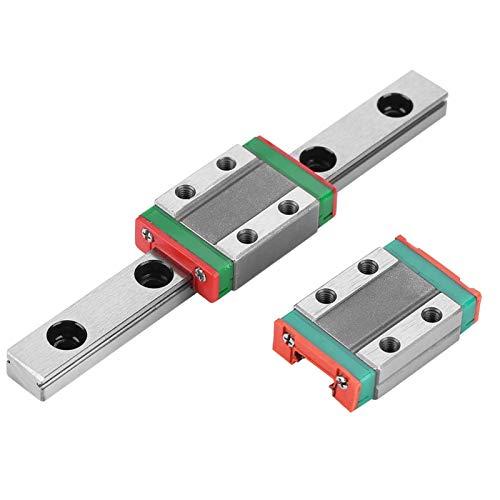 Miniatura Lineal de 9 mm de Ancho Guía Deslizante Guía Lineal Riel Deslizante de Alta precisión Lineal MGN9B para Equipos de automatización para Impresora 3D para un Trabajo preciso