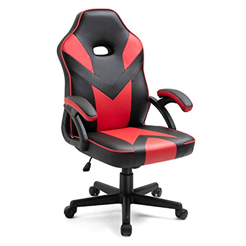 SOHOTIMES Gaming Chair Ergonomic Office Chair Leather Racing Style...