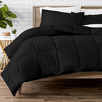Best comforter set full black Reviews