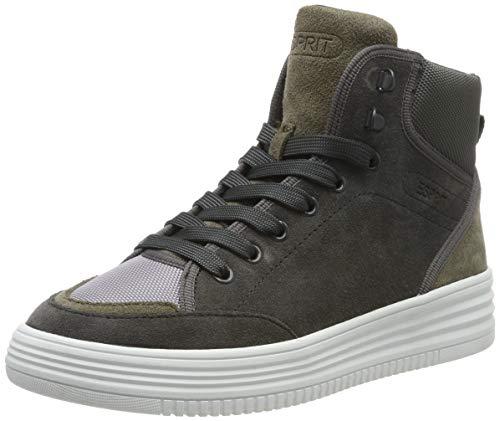 ESPRIT Damen Luni Bootie Hohe Sneaker, Grau (Anthracite 010), 38 EU