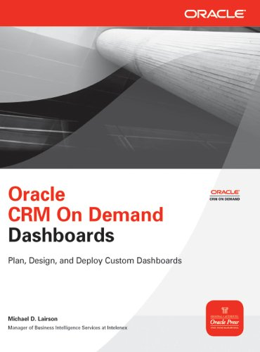 Oracle CRM On Demand Dashboards (Oracle Press) (English Edition)