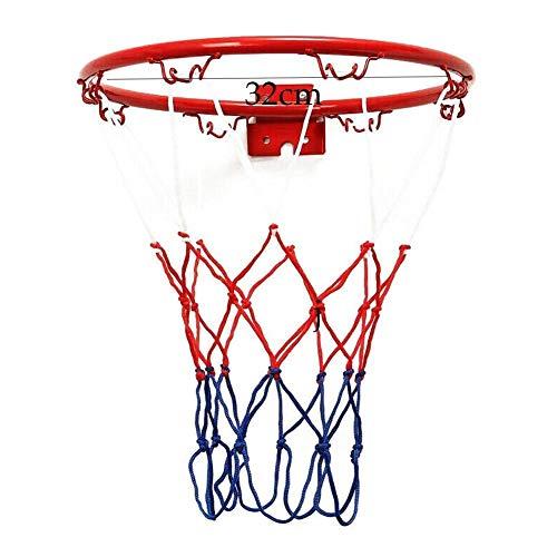 xianxinglinhaishangmao Basketballbox zum Aufhängen an der Wand montierter Torkorb Netz Basketballkorb Durchmesser 32 cm, 38 cm Basketballnetz für drinnen und draußen