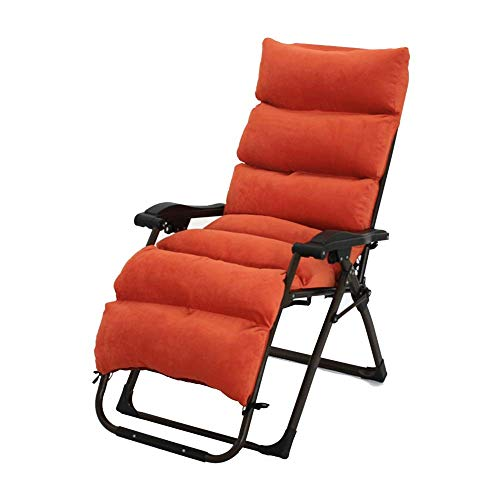 LLSS-Camping Chair, Patio Reclining Chairs With Cushions For Heavy People, Folding Outdoor Beach Lawn Camping Portable Chair, Support 200kg,Outdoor Reclining Chair