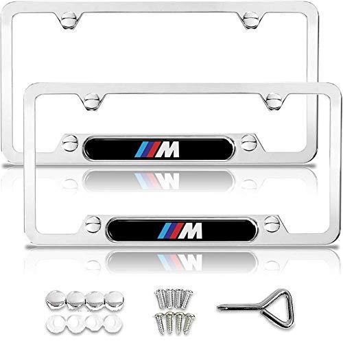 BMW License Plate Frame, BMW M License Plate Frame, BMW Accessories, BMW Plate Frame, Chrome License Plate Frame, License Plate Frame BMW, License Plate Frame Chrome, Metal License Plate Frame