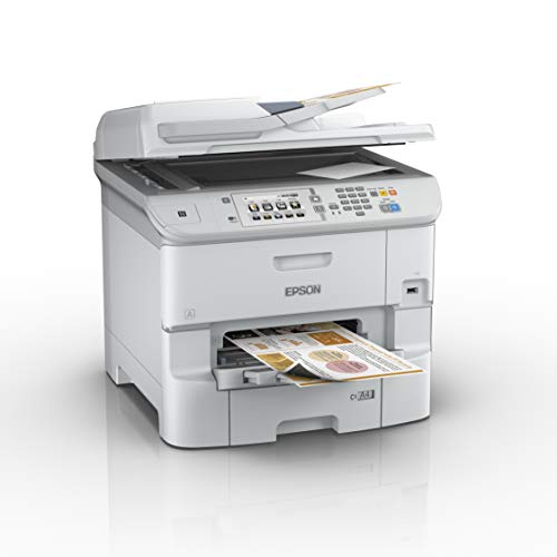 Epson WorkForce Pro WF-6590DWF (220V) Multifunktionsgerät (Drucker, scanner, kopieren, Fax, 4800 x 1200 dpi, WiFi und USB) weiß