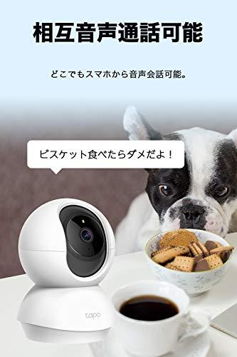 TP-Link(ティーピーリンク)『パンチルトネットワークWi-Fiカメラ(TapoC200)』