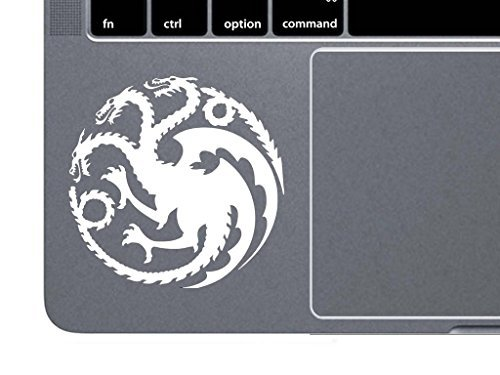 YWS Vinyl Sticker Decal - Targaryen Logo Game of Thrones House Mother of Dragons - Sticker Laptop Car Truck Window Bumper Notebook Vinyl Decal SMA5321