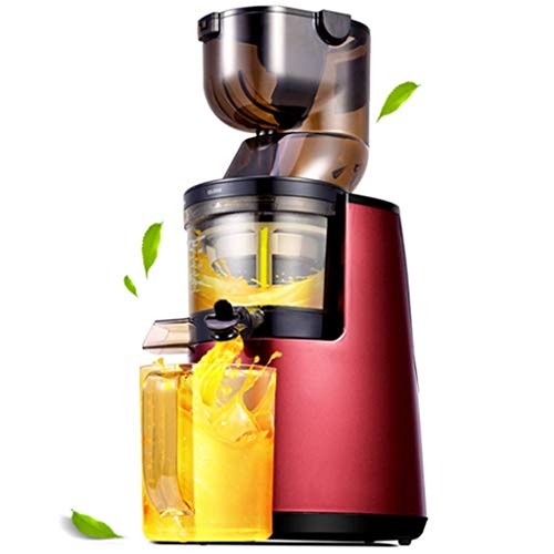 HAOSHUAI Juicer machines,Multifunctional large juicer large diameter automatic household juice separation fruit juice, Slow M